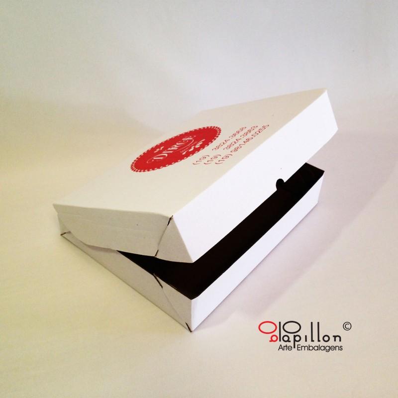 Caixa para docinhos de festa Pequena- 24,5 x 20 x 5cm e Média - 35,5x 30,5x 5cm