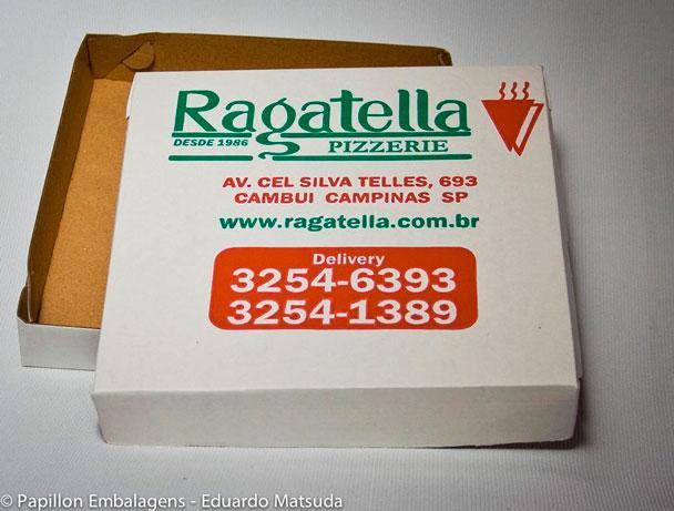 Caixa de pizza preço