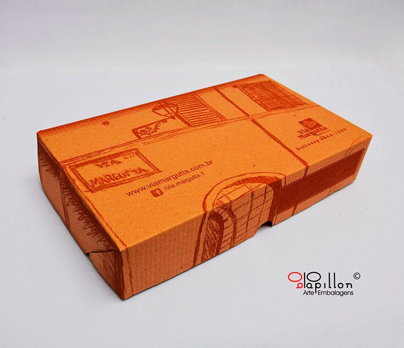 Caixa para salgados personalizadas