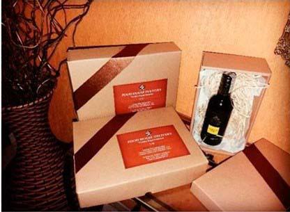 Caixa para vinhos