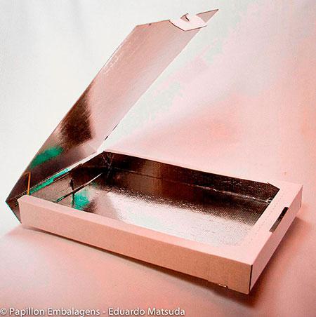 Caixas de papelão para esfihas