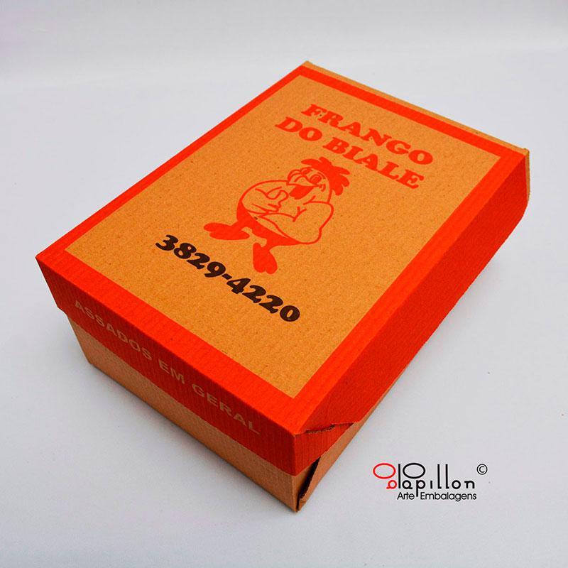 Fabrica de caixa de papelão para salgados