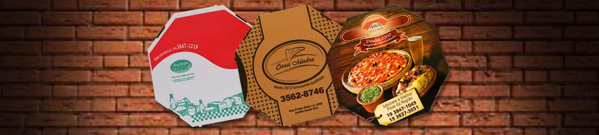 Fabrica caixa de pizza personalizada