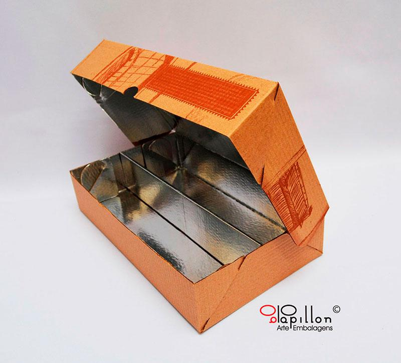 Fabrica de caixas de papelão para doces