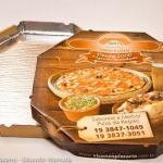 Melhor embalagem para pizza
